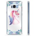 Custodia Ibrida per Samsung Galaxy S8  - Unicorno