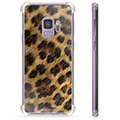 Custodia Ibrida per Samsung Galaxy S9 - Leopardo