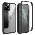 Custodia Ibrida Shine&Protect 360 per iPhone 11 Pro Max - Nera / Chiara