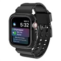 Apple Watch Series 4 Silicone Sport Band And Case - 40mm - Black