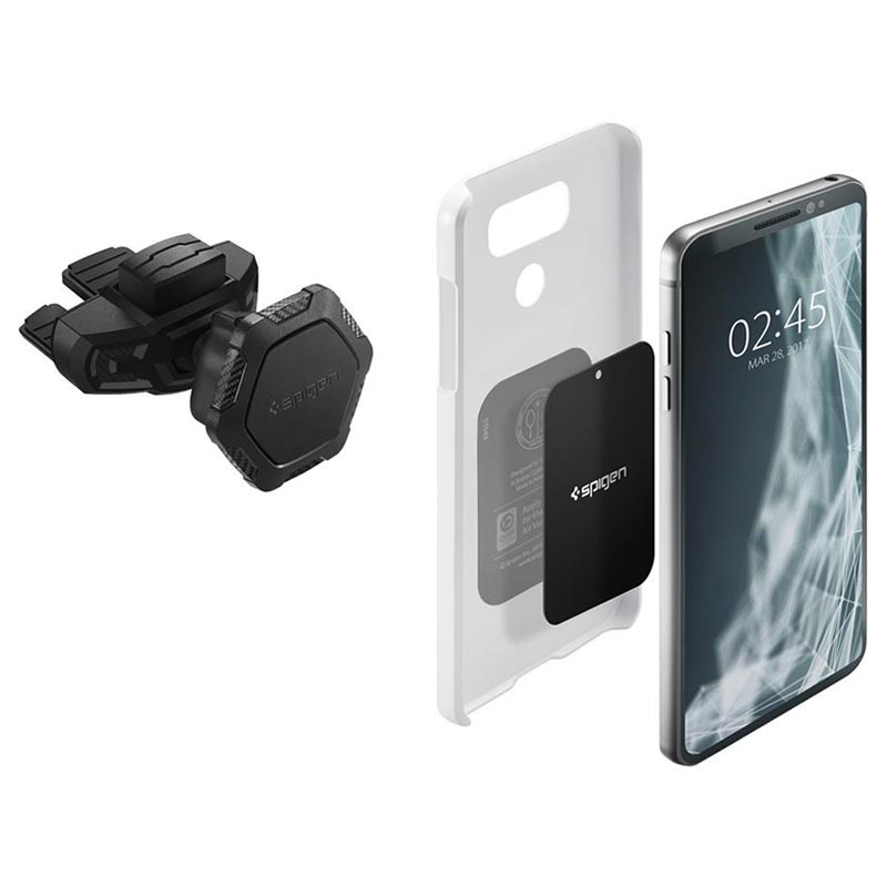 Spigen Kuel QS24 Universal Magnetic CD Slot Car Holder