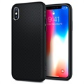 Cover Spigen Liquid Air Armor per iPhone X - Nero