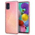 Cover Spigen Liquid Crystal Glitter per iPhone 11 Pro - Trasparente