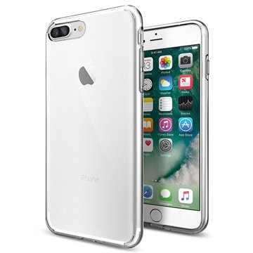 custodia iphone 8 plus argento