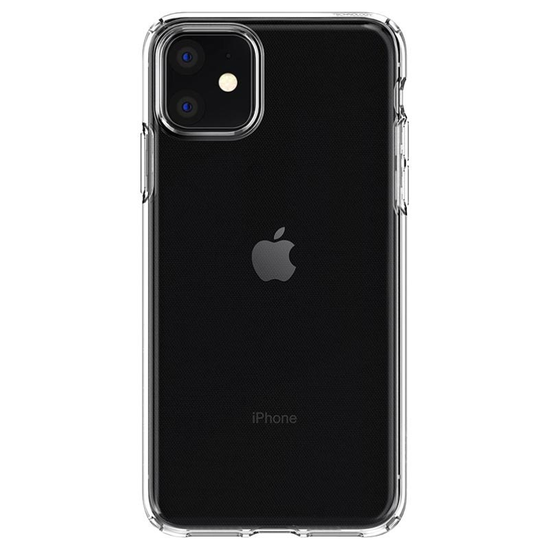 Custodia in TPU Spigen Liquid Crystal per iPhone 11 - Trasparente