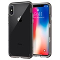 Custodia Spigen Neo Hybrid Crystal per iPhone X - Grigio Scuro