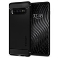 Custodia Spigen Rugged Armor per Samsung Galaxy S10+ - Nero