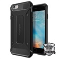 Custodia Spigen Rugged Armor per iPhone 6/6S - Nero Opaco