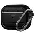 Custodia in TPU Spigen Rugged Armor per AirPods Pro - Nera