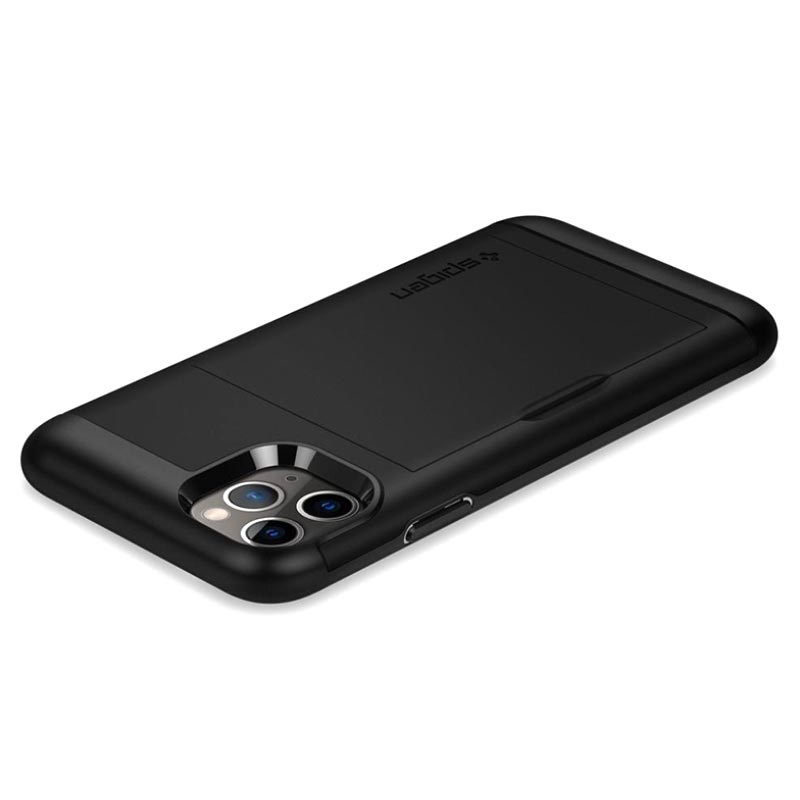 Custodia Spigen Slim Armor CS per iPhone 11 Pro - Nera