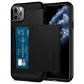 Custodia Spigen Slim Armor CS per iPhone 11 Pro Max - Nera