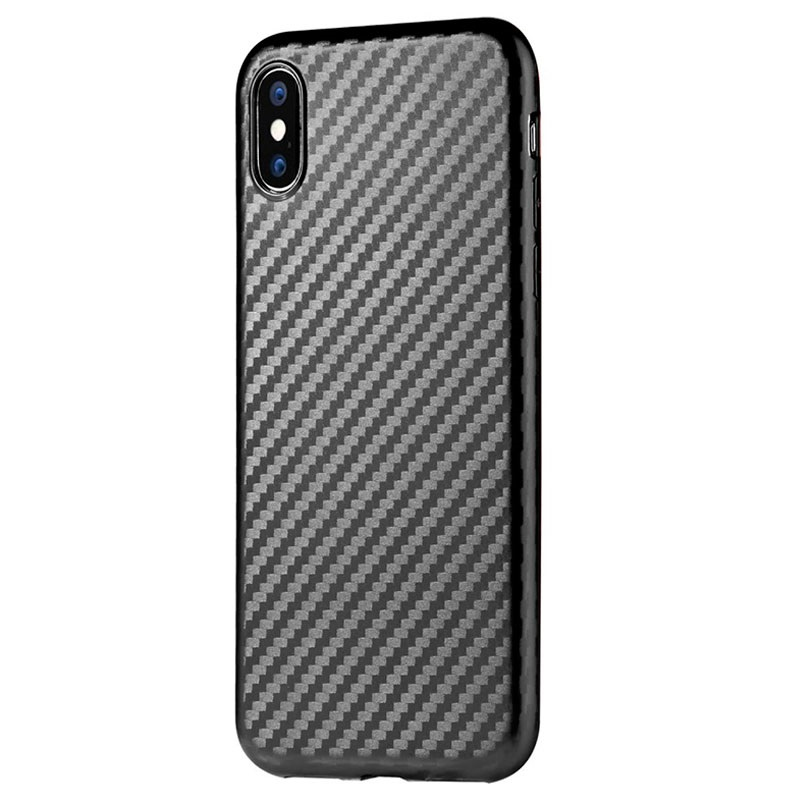 custodia iphone x fibra di carbonio