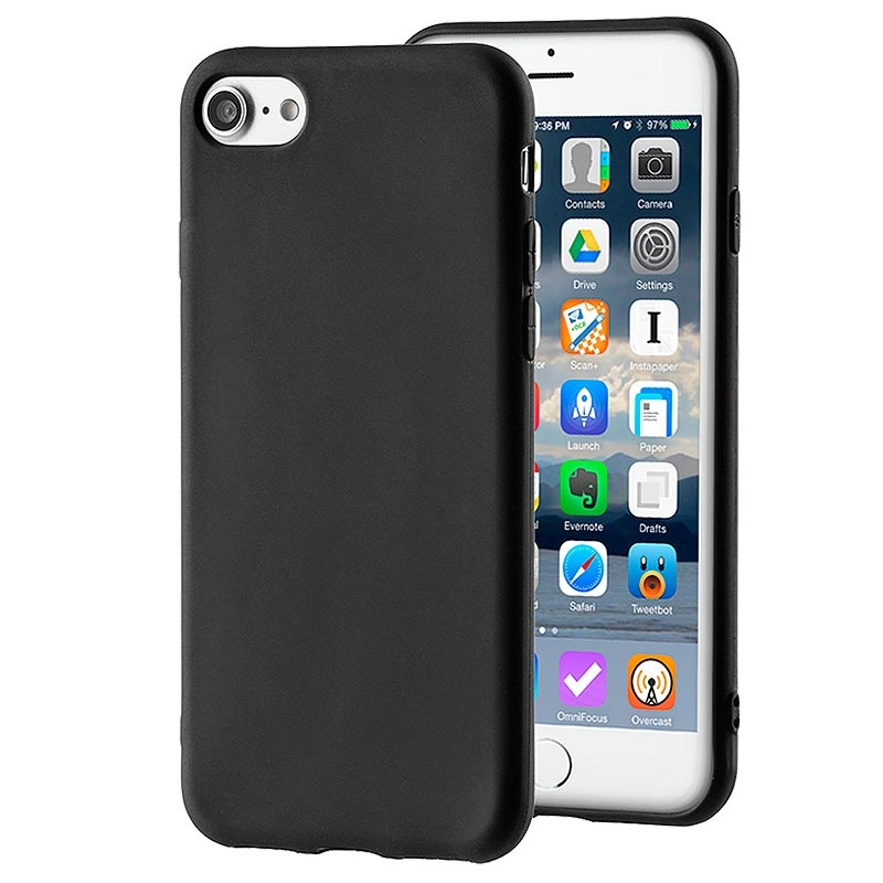 Custodia TPU per iPhone 6 / 6S - Nera