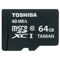 Scheda di Memoria MicroSDXC Toshiba SD-C064UHS1(6A High Speed Professional - 64GB