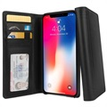 Custodia a Portafoglio in Pelle Twelve South Journal per iPhone XS Max - Nera