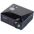 Uhappy U18 Mini LED Projector - iOS, Android - Black
