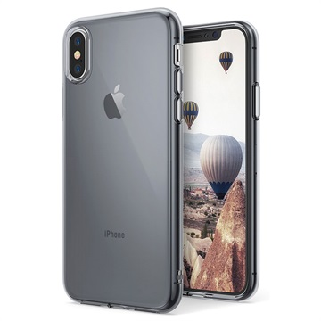 custodia iphone x ultra slim silicone