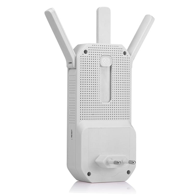 Universal Dual Band WiFi Repeater with Ethernet Port - White