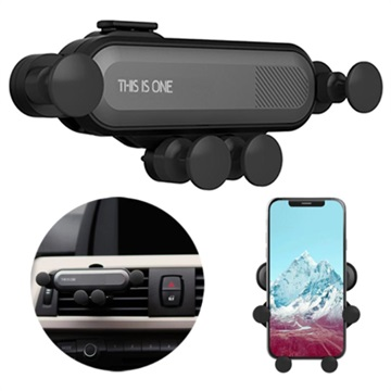 Universal Gravity Air Vent Car Holder for Smartphone