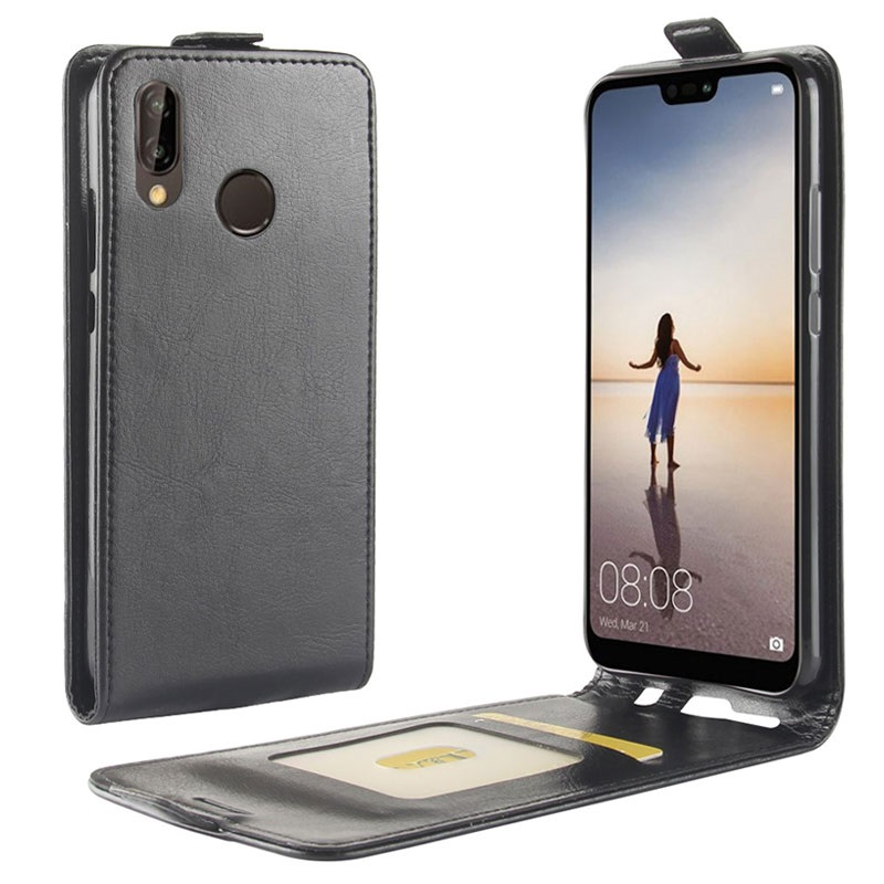 Custodia a Flip Verticale per Huawei P20 Lite