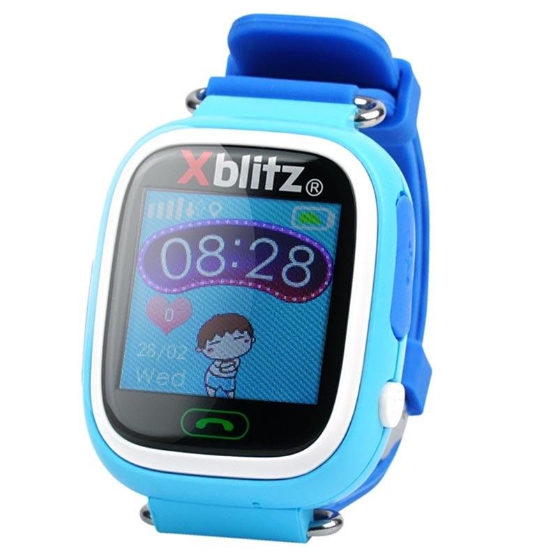 cheap prices online shop website for discount Smartwatch con GPS per Bambini Xblitz LoveMe - Blu