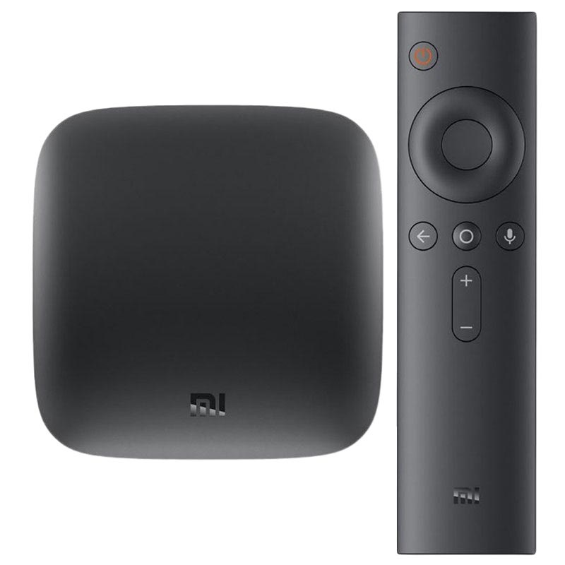 Xiaomi Mi Box Android Multimedia Player - 4K UHD (Bulk) - Black