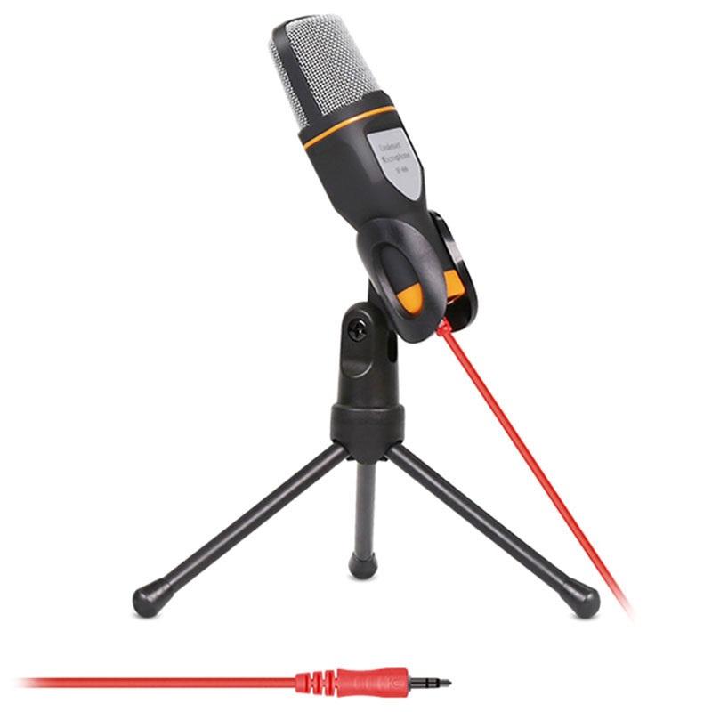 Microfono da tavolo yanmai sf 666 nero - Microfono da tavolo wireless ...