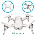 Drone da Selfie Yuneec Breeze 4K - iOS, Android - Bianco