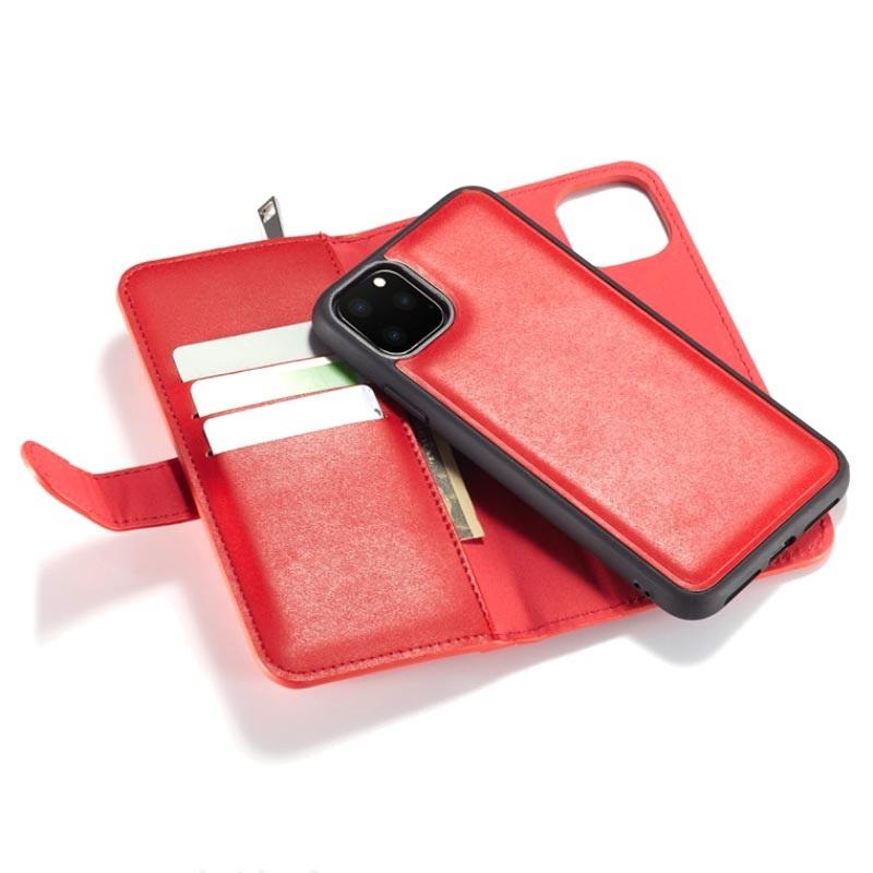 Custodia a Portafoglio Rimovibile 2 in 1 Zipped per iPhone 11