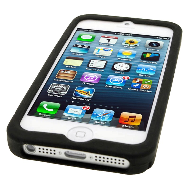 custodia in silicone iphone 5s