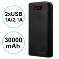 Power Bank con 2xUSB iMyMax Carbon MM-PB/006 - 30000mAh
