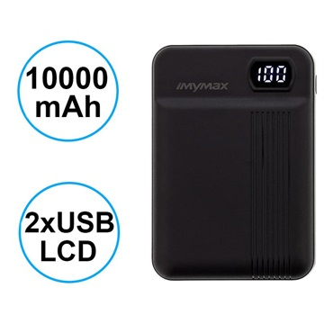 Power Bank con 2xUSB iMyMax MP11 - 10000mAh