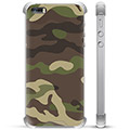Custodia Ibrida per iPhone 5/5S/SE - Camouflage