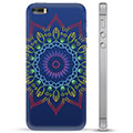 Custodia Ibrida per iPhone 5/5S/SE  - Mandala Colorata