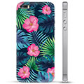 Custodia Ibrida per iPhone 5/5S/SE  - Fiore Tropicale