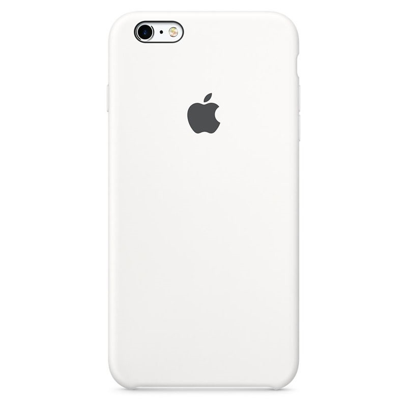 Custodia in Silicone Apple MKY12ZM/A per iPhone 6, iPhone 6S - Bianco