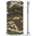 Custodia Ibrida per iPhone 6 / 6S - Camouflage