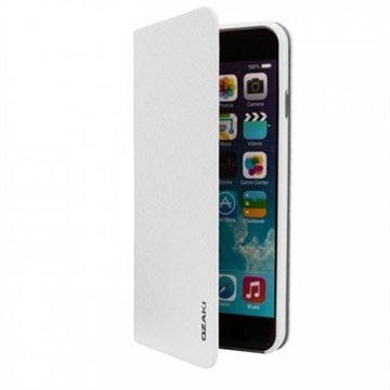 custodia iphone 6 portafoglio bianca