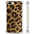 Custodia Ibrida per iPhone 7 Plus / iPhone 8 Plus - Leopardo