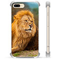 Custodia Ibrida per iPhone 7 Plus / iPhone 8 Plus - Leone