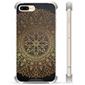 Custodia Ibrida per iPhone 7 Plus / iPhone 8 Plus - Mandala
