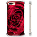 Custodia Ibrida per iPhone 7 Plus / iPhone 8 Plus - Rosa