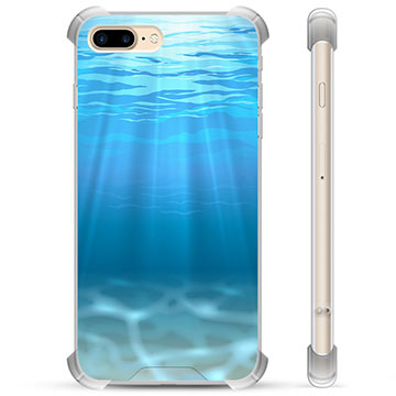 Custodia Ibrida per iPhone 7 Plus / iPhone 8 Plus - Mare