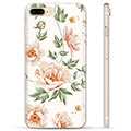 Custodia TPU per iPhone 7 Plus / iPhone 8 Plus - Floreale