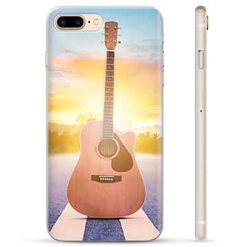 Custodia TPU per iPhone 7 Plus / iPhone 8 Plus - Chitarra