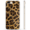 Custodia TPU per iPhone 7 Plus / iPhone 8 Plus - Leopardo