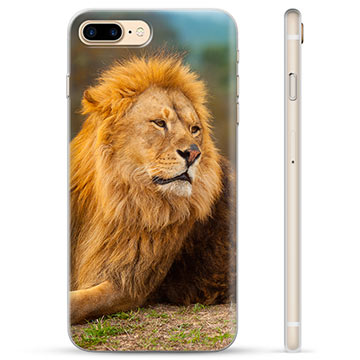 Custodia TPU per iPhone 7 Plus / iPhone 8 Plus - Leone