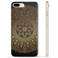 Custodia TPU per iPhone 7 Plus / iPhone 8 Plus - Mandala