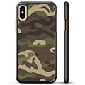 Cover Protettiva per iPhone X / iPhone XS - Camouflage
