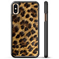 Cover Protettiva per iPhone X / iPhone XS - Leopardo
